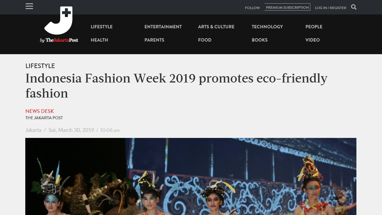 Indonesia Fashion Week 2019 promotes eco-friendly fashion